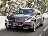 Wallpapers of Maserati Quattroporte S Q4 2013