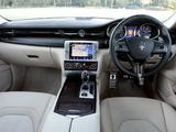 Maserati Quattroporte GTS AU-spec 2014 wallpapers