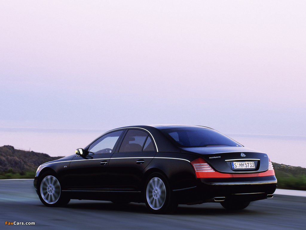 Maybach 57S 2005–10 images (1024 x 768)