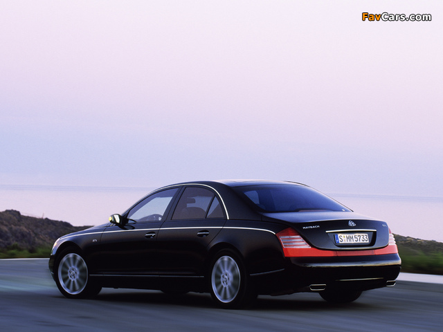 Maybach 57S 2005–10 images (640 x 480)
