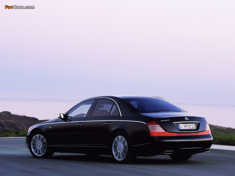 Maybach 57S 2005–10 images (800 x 600)