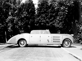 Maybach SW38 Stromlinien Cabriolet by Spohn 1937–38 pictures