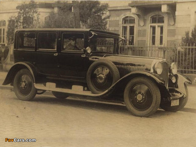 Maybach W5 SG Pullman Limousine 1926–28 images (640 x 480)