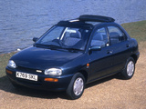 Images of Mazda 121 UK-spec (DB) 1991–96