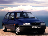 Images of Mazda 121 3-door UK-spec 1996–99