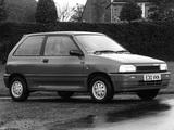 Mazda 121 3-door UK-spec (DA) 1987–91 pictures