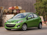 Images of Mazda2 US-spec (DE2) 2010