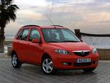 Mazda 2 2002–05 photos
