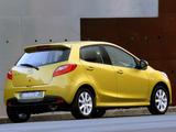 Mazda2 Dynamic (DE) 2007–10 wallpapers