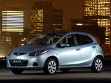 Mazda2 ZA-spec (DE) 2007–10 wallpapers
