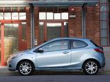 Mazda2 3-door (DE) 2008–10 pictures