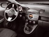 Mazda2 3-door (DE) 2008–10 wallpapers