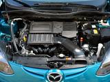 Mazda 2 5-door 2010 wallpapers