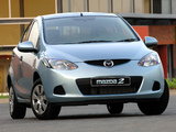 Photos of Mazda2 ZA-spec (DE) 2007–10