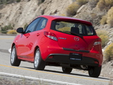 Photos of Mazda2 US-spec (DE2) 2010