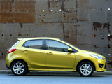 Pictures of Mazda2 Dynamic (DE) 2007–10