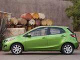 Pictures of Mazda2 US-spec (DE2) 2010