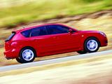 Images of Mazda 3 Hatchback AU-spec 2003–06