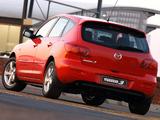 Images of Mazda3 Hatchback ZA-spec 2003–06