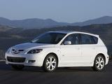 Images of Mazda3 Hatchback US-spec (BK2) 2006–09