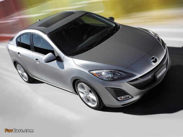 Images of Mazda3 Sedan US-spec (BL) 2009–11 (640 x 480)