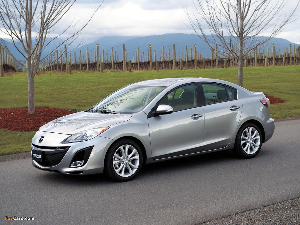 Images Of Mazda3 Sedan Us Spec Bl 2009 11 1024x768