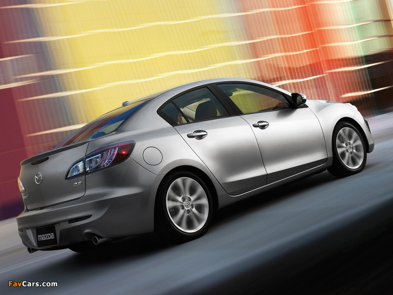 Images of Mazda3 Sedan US-spec (BL) 2009–11 (800 x 600)