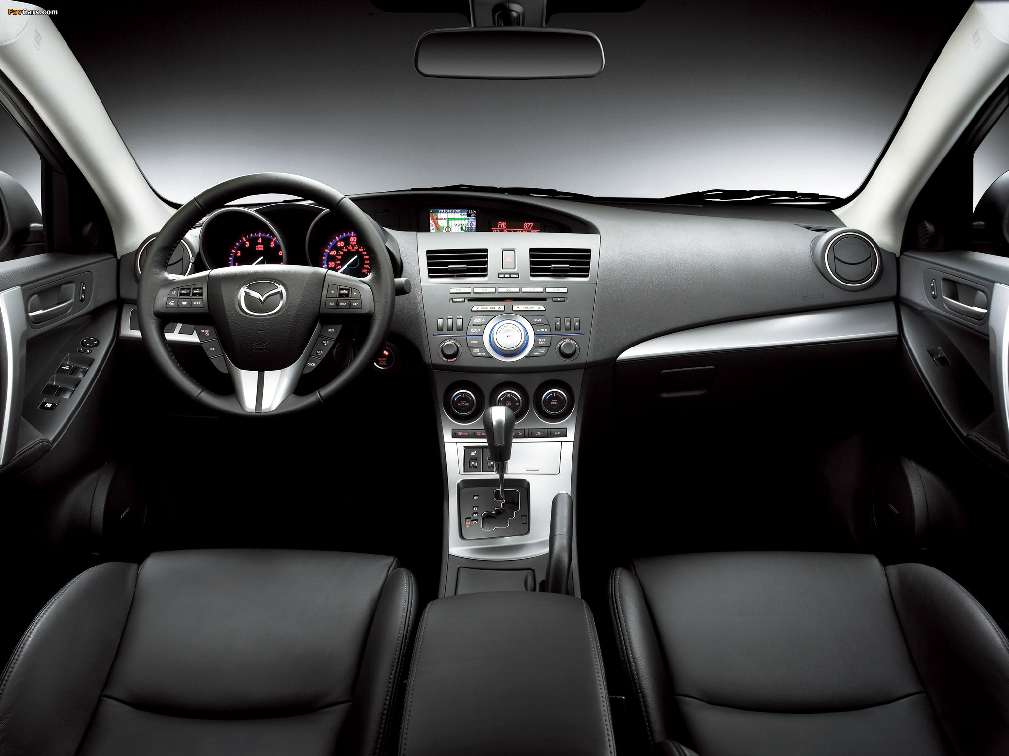 Images of Mazda3 Sedan US-spec (BL) 2009–11 (2048 x 1536)