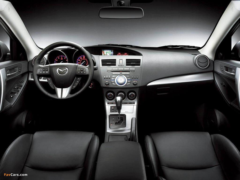 Images of Mazda3 Sedan US-spec (BL) 2009–11 (1024 x 768)