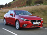 Images of Mazda3 Sedan UK-spec (BM) 2013