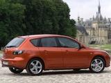 Mazda 3 Hatchback 2003–06 images