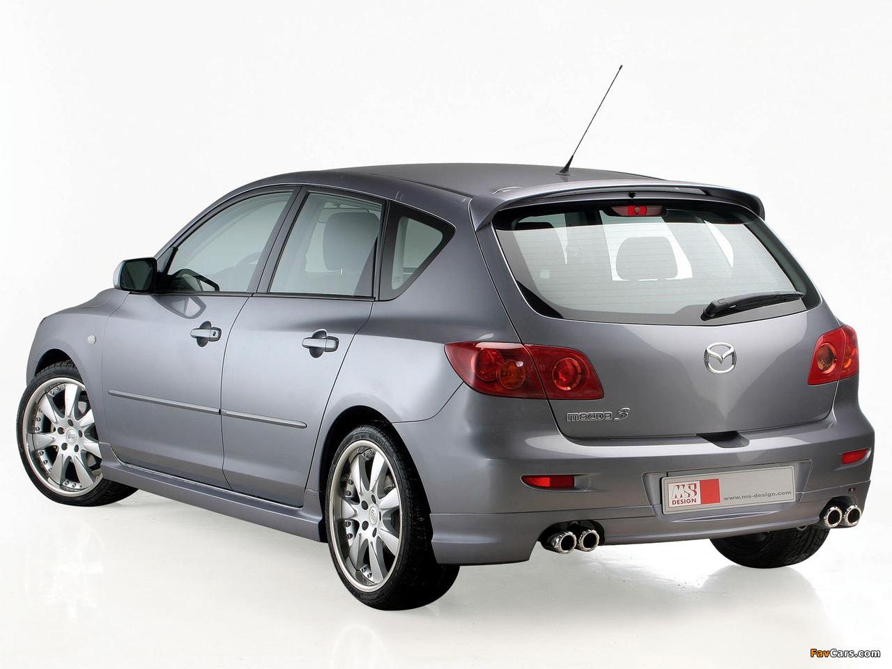 MS Design Mazda3 (BK) 2003–06 photos (1280 x 960)