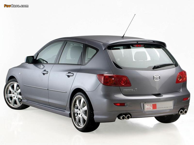 MS Design Mazda3 (BK) 2003–06 photos (800 x 600)