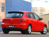 Mazda3 Hatchback ZA-spec 2003–06 photos