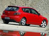 Mazda3 Sport Hatchback ZA-spec (BK) 2003–06 photos