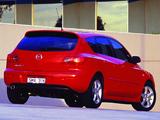 Mazda 3 Hatchback AU-spec 2003–06 pictures