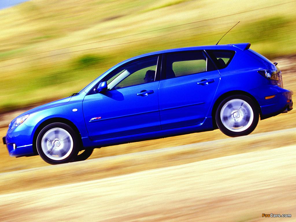 Mazda X 3 >> Mazda 3 Hatchback SP23 2003–06 pictures (1024x768)