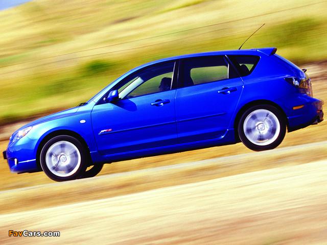 Mazda 3 Hatchback SP23 2003–06 pictures (640 x 480)