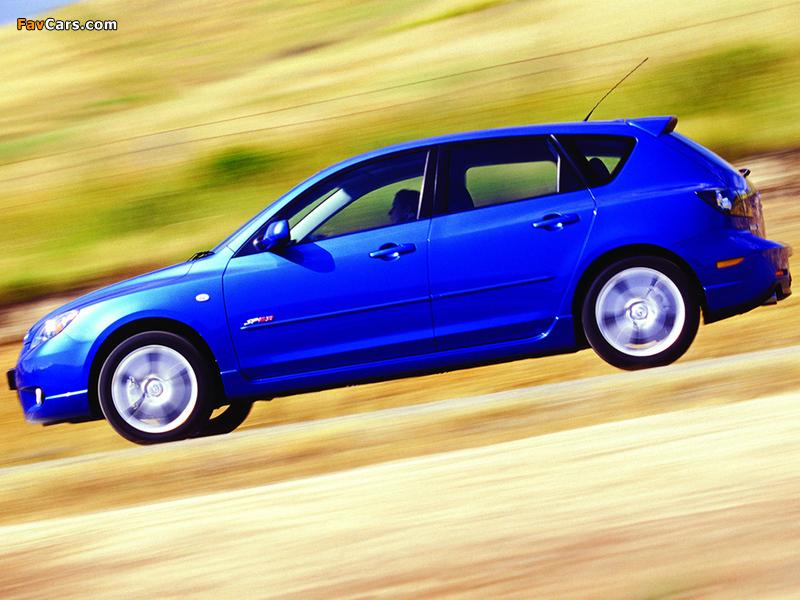 Mazda 3 Hatchback SP23 2003–06 pictures (800 x 600)