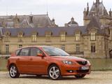 Mazda 3 Hatchback 2003–06 pictures