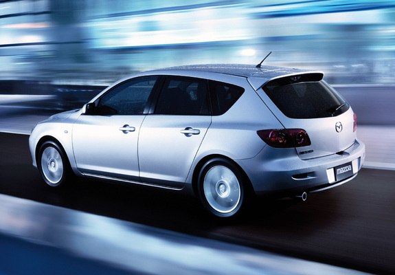 Mazda 3 Hatchback 2003 06 Wallpapers