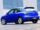 Mazda 3 Hatchback SP23 2003–06 wallpapers