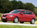 Mazda 3 Hatchback 2003–06 wallpapers