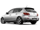 Mazda3 Hatchback ZA-spec 2003–06 wallpapers