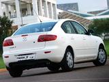 Mazda3 Sedan ZA-spec (BK) 2004–06 images