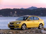 Mazda3 Sedan (BK) 2004–06 wallpapers