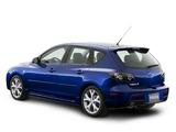 Mazda3 Hatchback US-spec (BK2) 2006–09 images