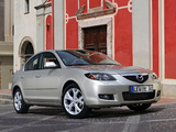 Mazda 3 Sedan 2006–09 images