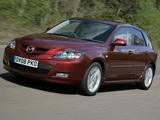 Mazda3 Sport Hatchback UK-spec (BK2) 2006–09 images