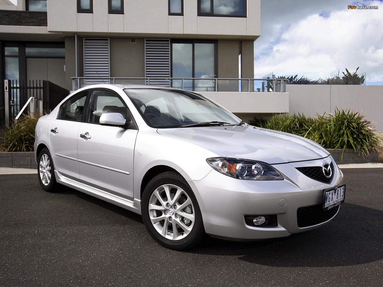 Mazda3 Sedan AU-spec (BK2) 2006–09 images (1280 x 960)